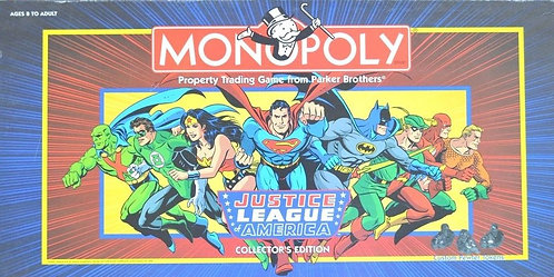 Justice League of America Monopoly