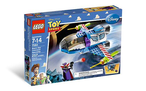 LEGO 7593 Toy Story Buzz's Star Command Spaceship