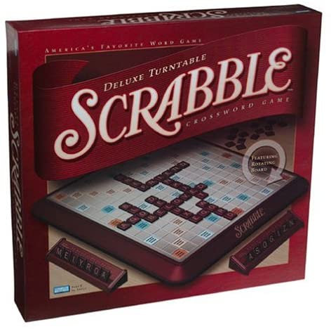 Scrabble Deluxe Turntable