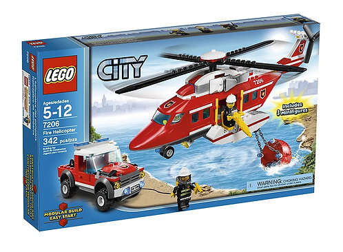 LEGO 7206 City Fire Helicopter