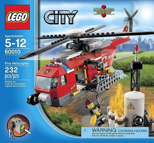 LEGO 60010 City Fire Helicopter