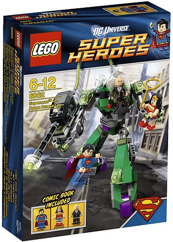 LEGO 6862 Super Heroes Superman vs. Power Armor Lex