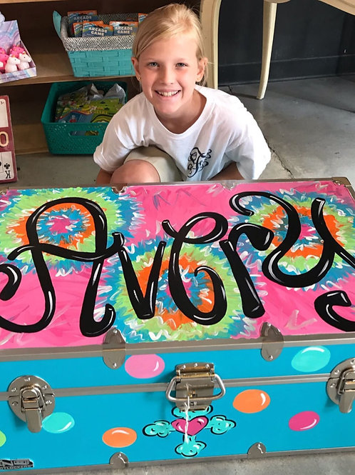 Tye Dye Camp Trunk
