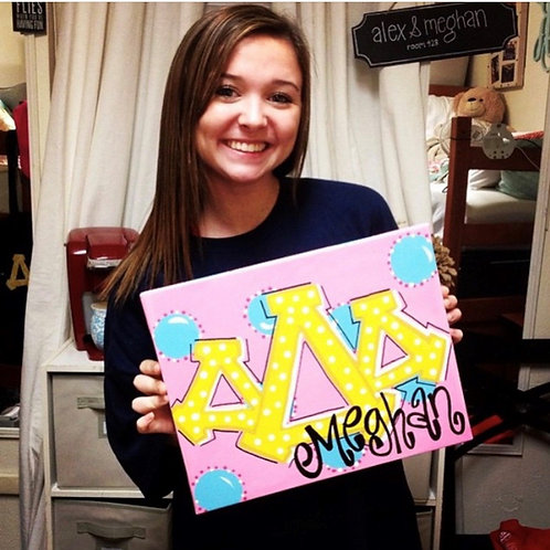 Sorority Wall Art