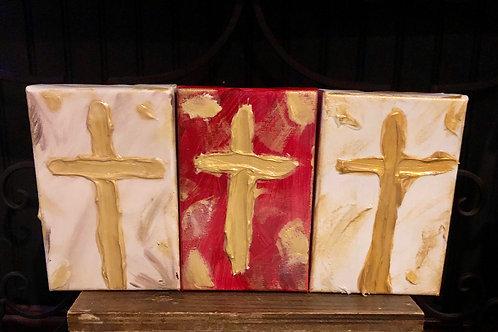 Cross Blessing Block
