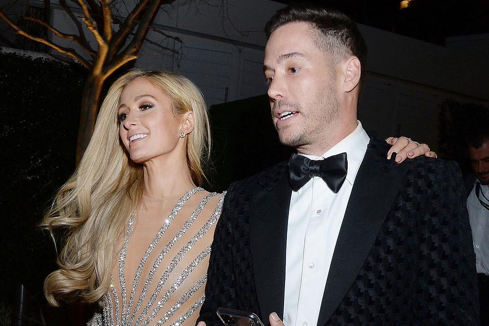 Paris Hilton with boyfriend Carter