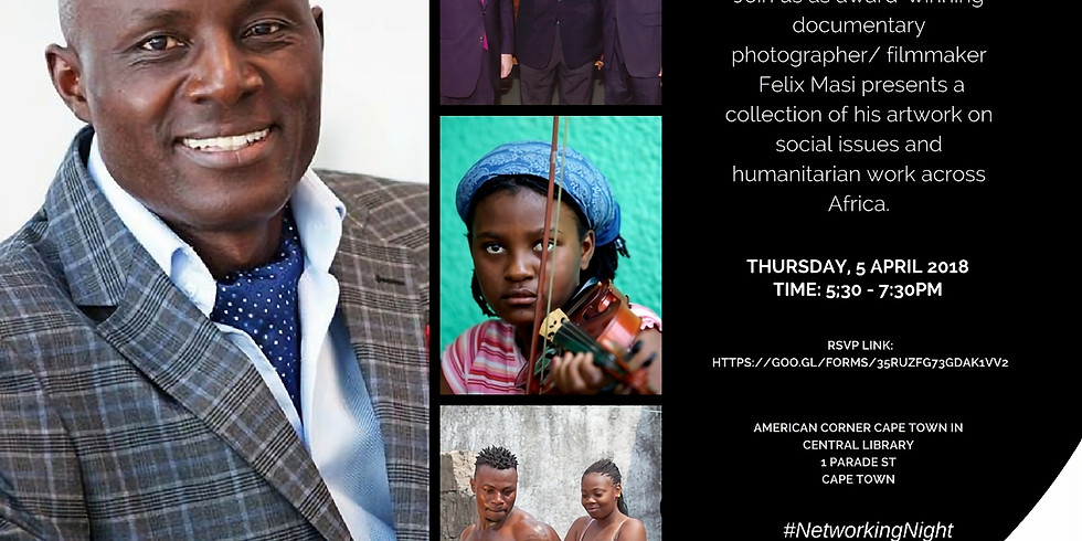 Photographic exhibition - Projecting a New Africa by Africans #FirstThursday 5 April, 5:30 p.m. - 7:30 p.m.