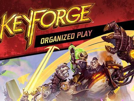 KEYFORGE NEWS: NEW SET AND RETURN OF ORGANISED PLAY
