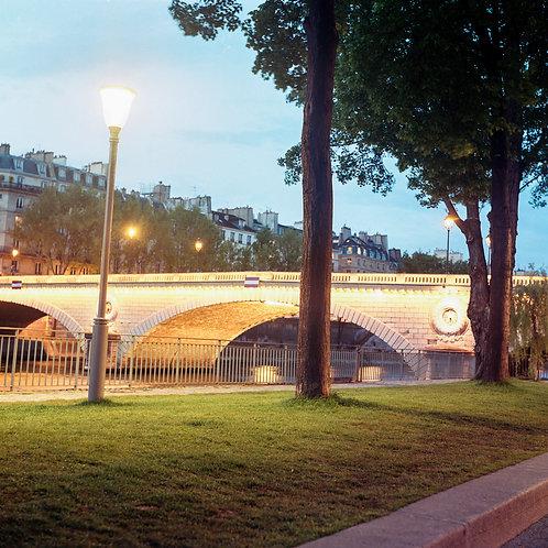 Paris, Voie George Pompidou, Le Pont