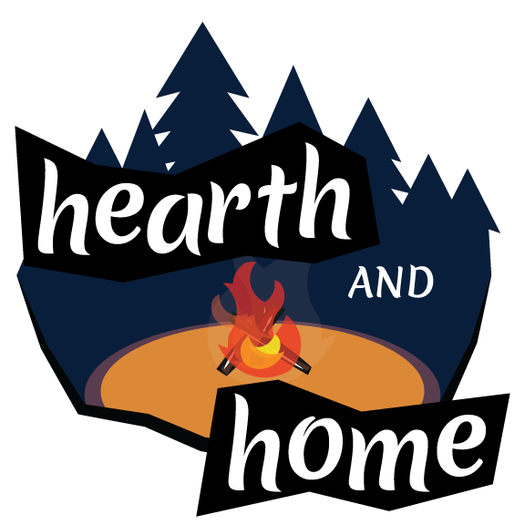 A logo created for Hearth and Home, a game I developed on a team of 6 during the 2019 Global Game Jam at VFS in Vancouver.