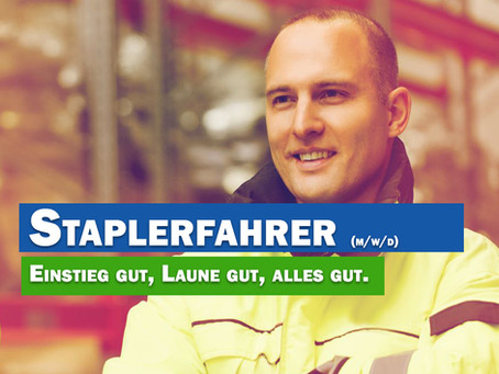 Staplerfahrer m/w/d 55543 Bad Kreuznach