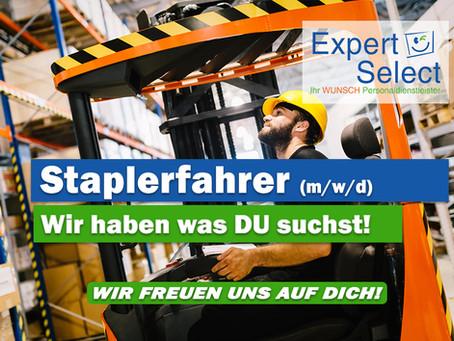 Staplerfahrer (m/w/d) in 55411 Bingen am Rhein - 300,00 EUR STARTPRÄMIE!
