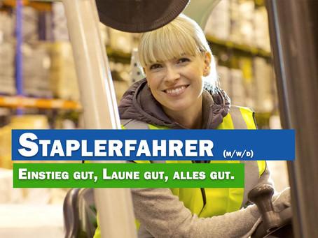 Staplerfahrer m/w/d 55411 Bingen am Rhein