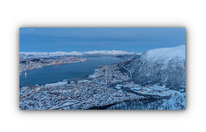 Grøtfjorden IR Varmepanel Veggbilde Paneloven