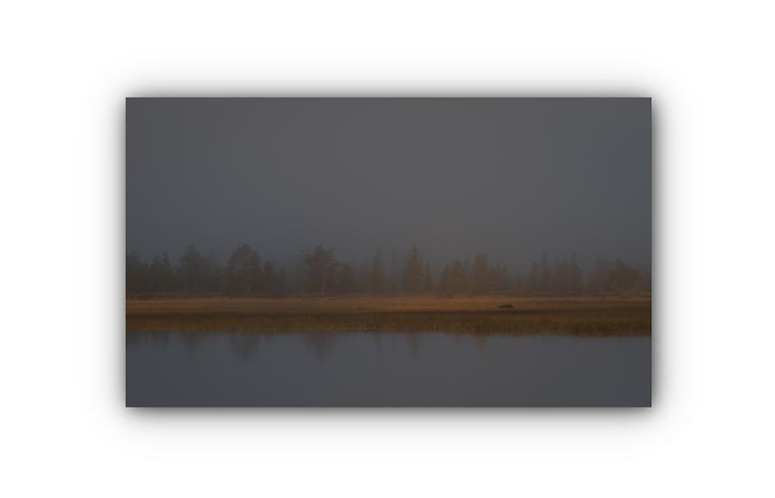 Lake Savalen IR Varmepanel Veggbilde Panelovn