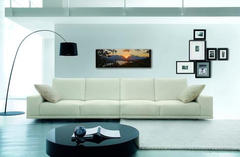 Infrarød varmeovner og veggbilde