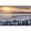 Thumbnail: Skog- og vinterlandskap med vakkert solskinn IR Varmepanel Veggbilde Panelovn