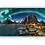 Thumbnail: Vakkert fjell med nordlys over Hamnøy i Lofoten IR Varmepanel Veggbilde Panelovn
