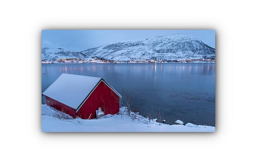 Kaldfjord IR Varmepanel Veggbilde Paneloven
