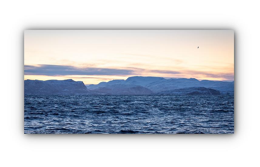 Skjervøya 2 IR Varmepanel Veggbilde Paneloven