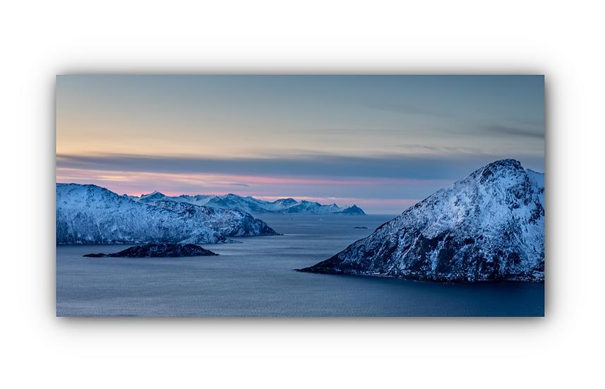 Norsk landskap 4 IR Varmepanel Veggbilde Paneloven