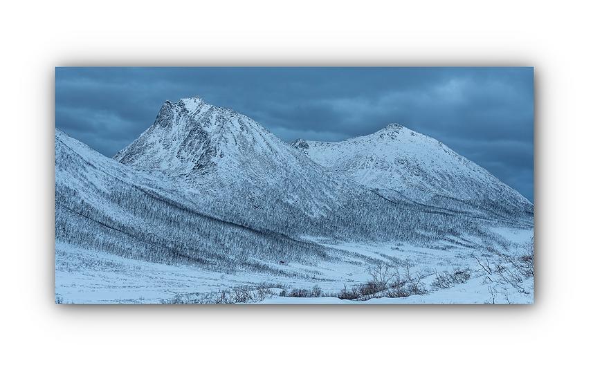 Norsk landskap 2 IR Varmepanel Veggbilde Paneloven