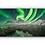 Thumbnail: Nordlys over vinterfjell speilet i stille vann  IR Varmepanel Veggbilde Panelovn
