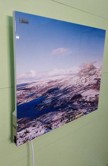 Venabygdfjellet og Muen i vinterlandskap IR Varmepanel Veggbilde Panelovn