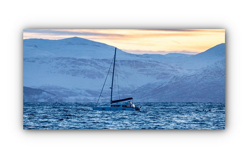 Skjervøya 3 IR Varmepanel Veggbilde Paneloven
