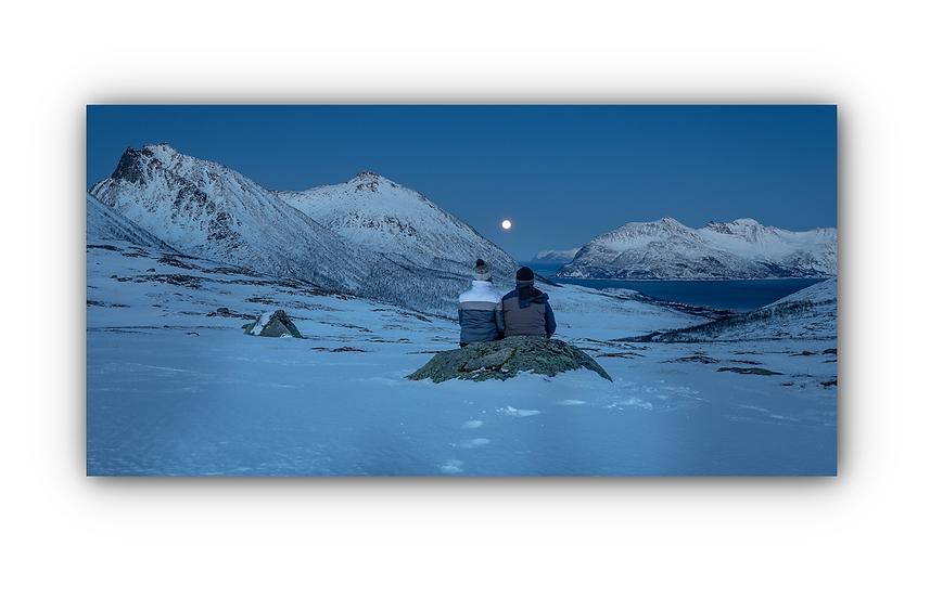 Norsk landskap 3 IR Varmepanel Veggbilde Paneloven