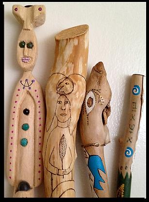 Mindy Seeger Earlier Work - Wands