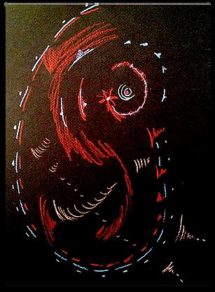 Mindy Seeger Earlier Work - Spirit Drawing