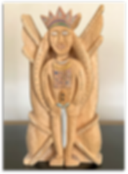 Mindy Seeger Earlier Work - Wood Carving