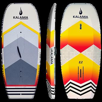 Kalama Perfomance sup hydrofoil board orange pvc sandwich