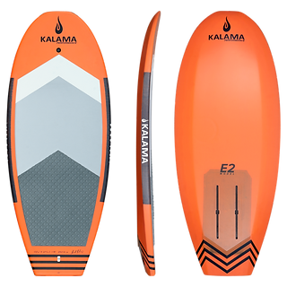 Kalama performance prone surf foil board orange