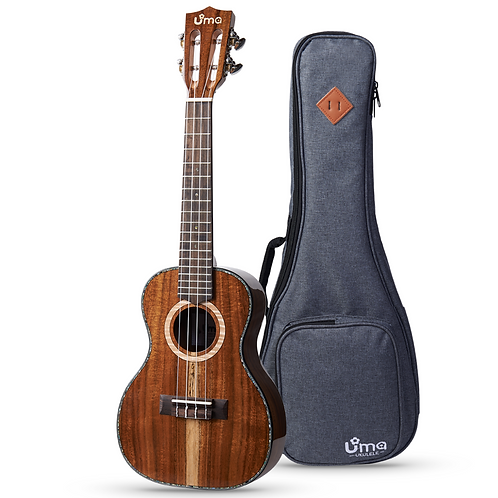 Uma Ukulele UK-30 EVO All Solid Acacia With Deluxe Bag