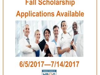 Fall Scholarship Opportunity