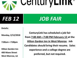 CenturyLink Hiring for 150 Positions