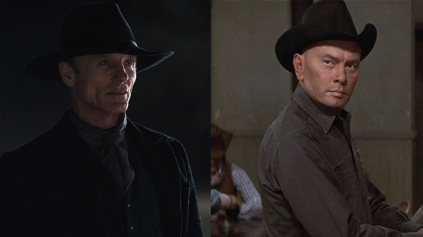 Ed Harris in Westworld