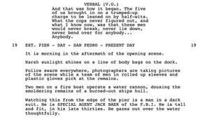 the usual suspects script