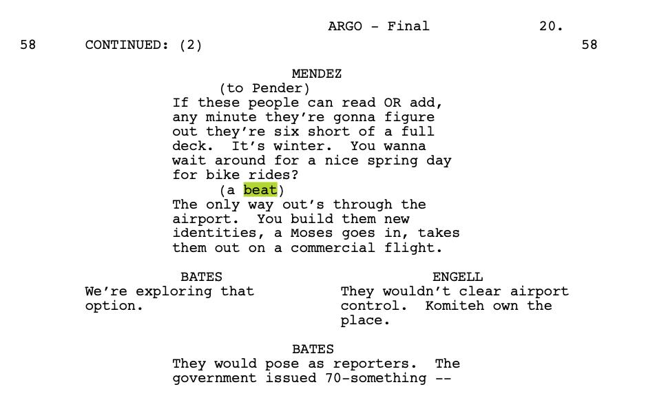 Argo screenplay download