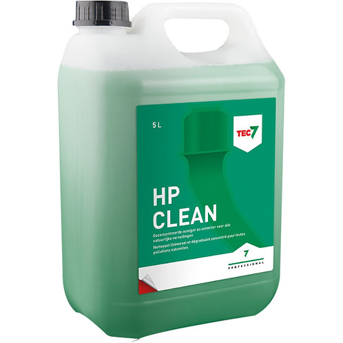 Tec7 HP Clean 5 l, rengjører og avfetter