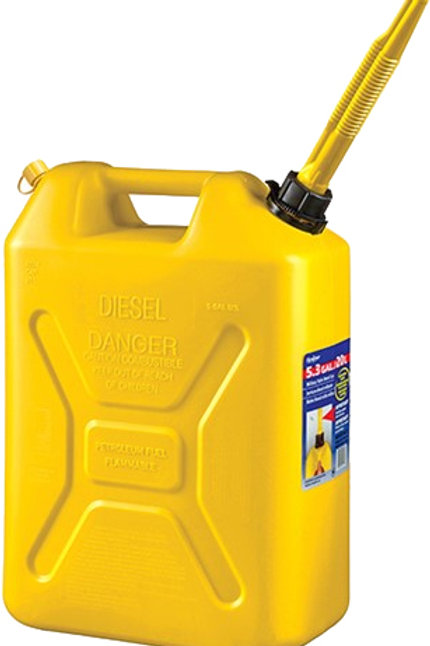 Bensinkanne - Scepter Gul (Diesel)