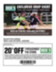 Norwell Girls Softball Shop Weekend Flye