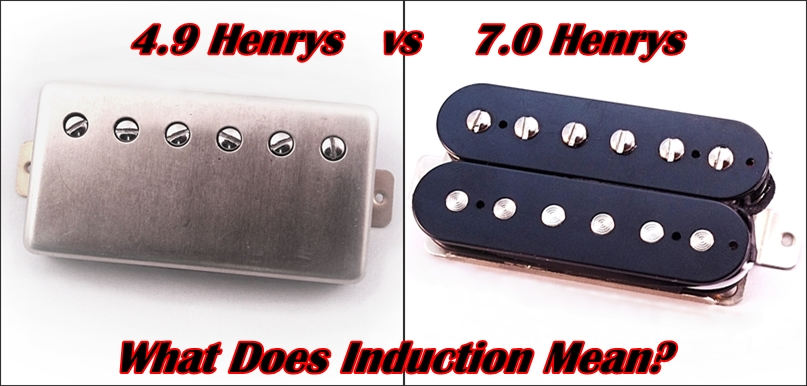 What Henrys Induction means electric guitar pickups