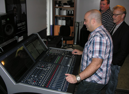 LAWO CONSOLE DEMO AT MID-COAST