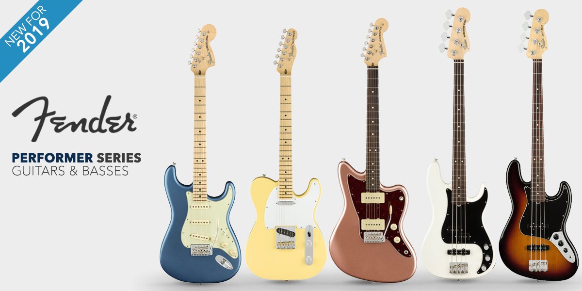 Fender Guitars American Performer Series 2019