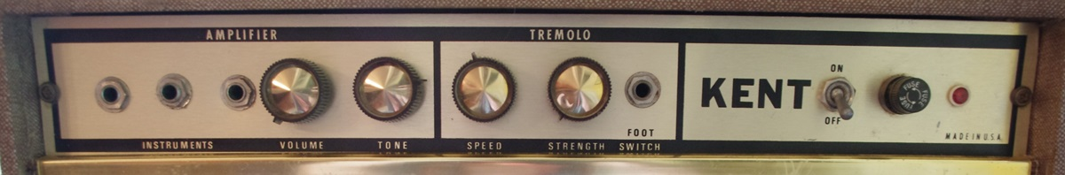 Kent DR45 vintage tube amp with tremolo
