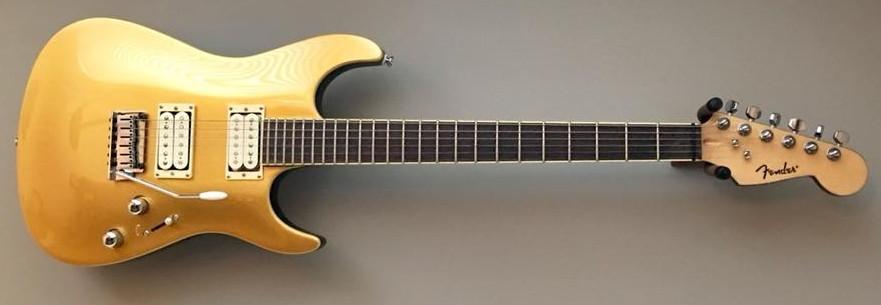Adrian Belew MIK Fender Goldtop Showmaster