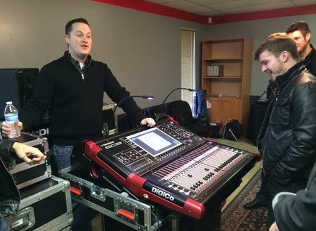 DiGiCo at Mid-Coast Sound: